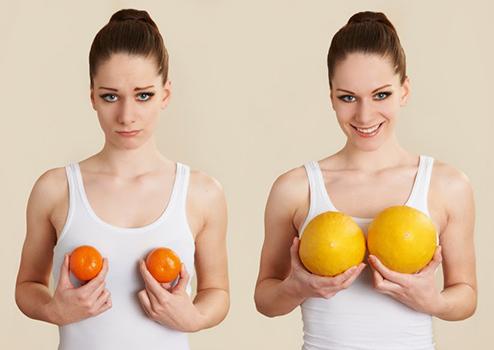 мифы относительно увеличения груди