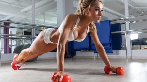 Увеличение груди упражнения